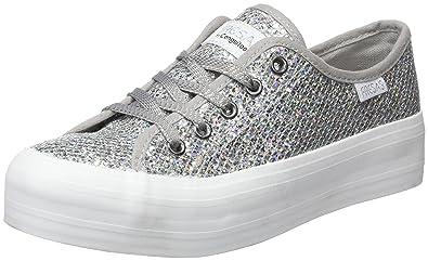Conguitos Mädchen Glitter Derbys, Silber (Silver), 31 EU
