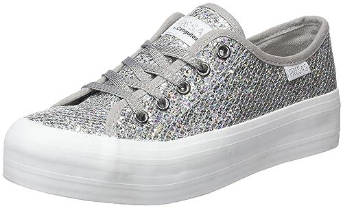 Conguitos Glitter, Zapatos de Cordones Derby para Niñas: Amazon.es: Zapatos y complementos