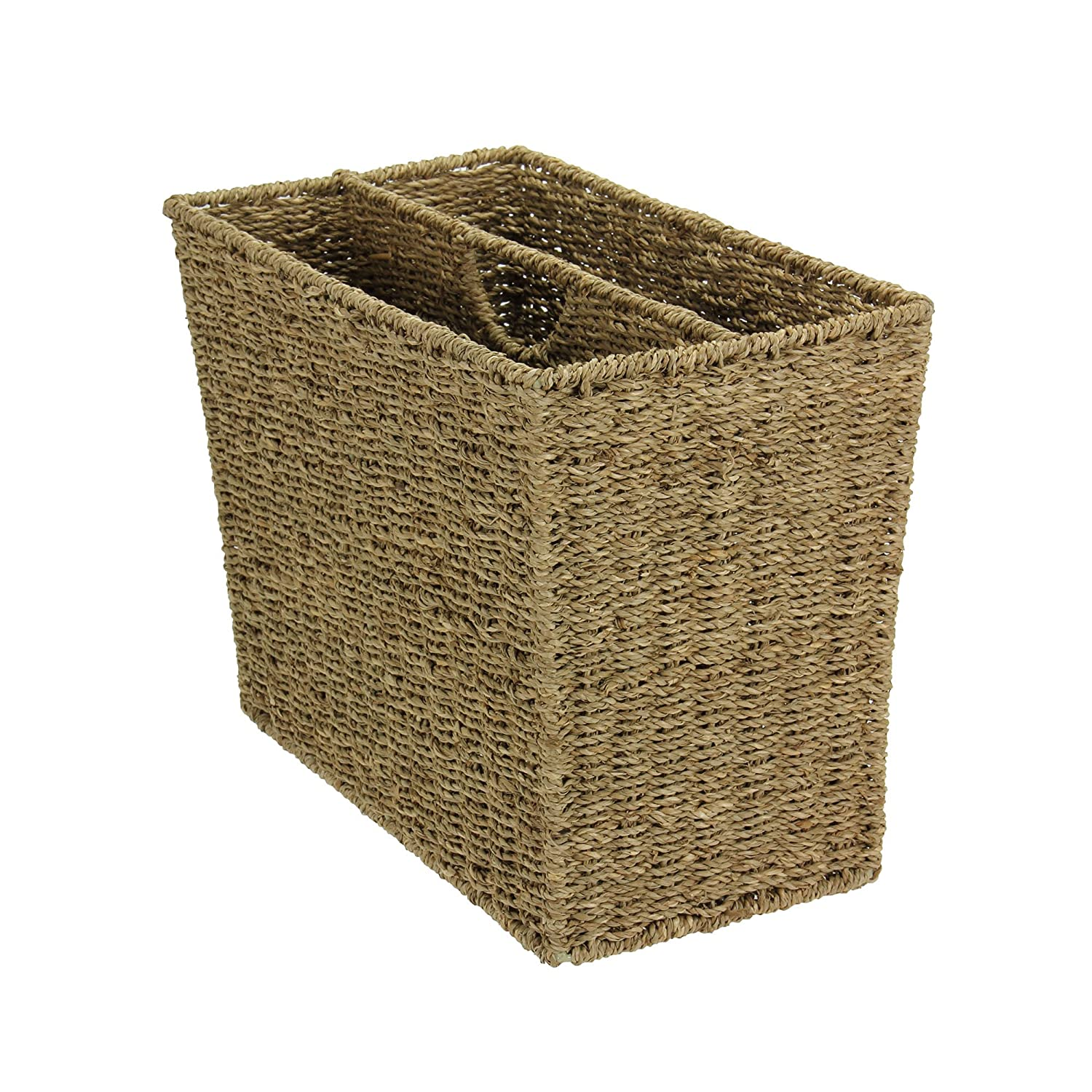 Household Essentials Woven Seagrass Magazine Image 1