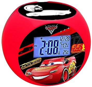 Amazon.es: Cars RL975DC Disney Despertador con Proyector, Radio FM ...