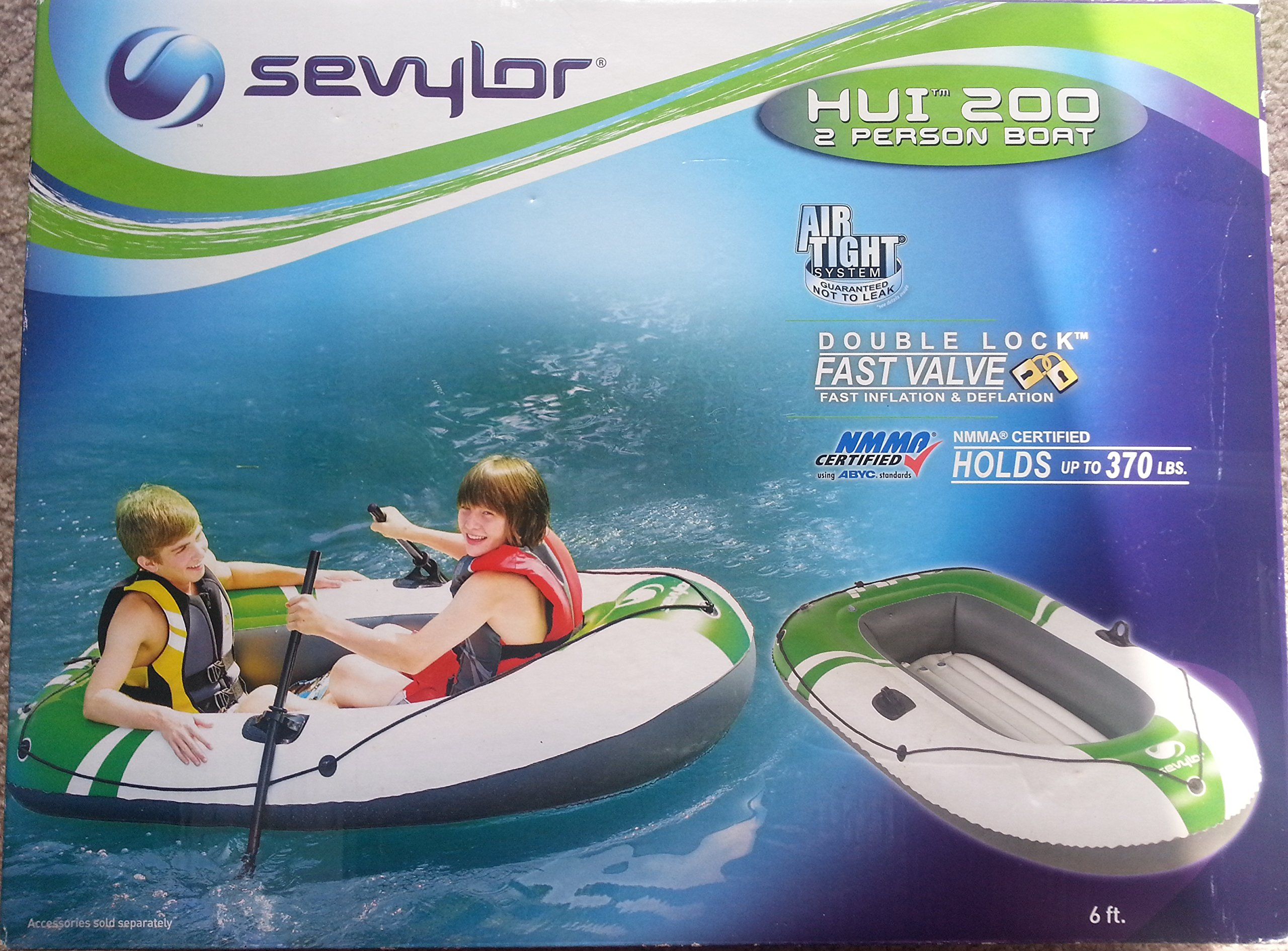 Sevylor 2 Person Boat HUI 200