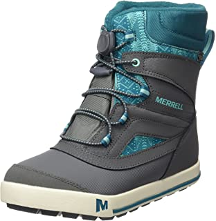 abae971d Merrell Boys ml-b Snow Bank 2.0 Waterpoof High Rise Hiking Boots ...