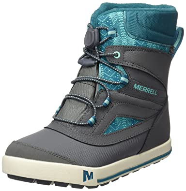 af17d5944a Merrell Girls' My56089 High Rise Hiking Boots: Amazon.co.uk: Shoes ...