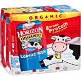 Horizon Organic Lowfat Milk 8 fl. oz., 6 Count (Pack of 2)