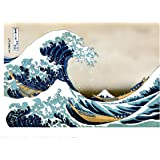 Hokusai The Great Wave off Kanagawa Japanese Poster Art Print 40x30cm (PDP 059)
