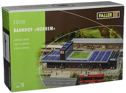 Faller 212130 Horrem Station N Scale Building Kit, Buildings