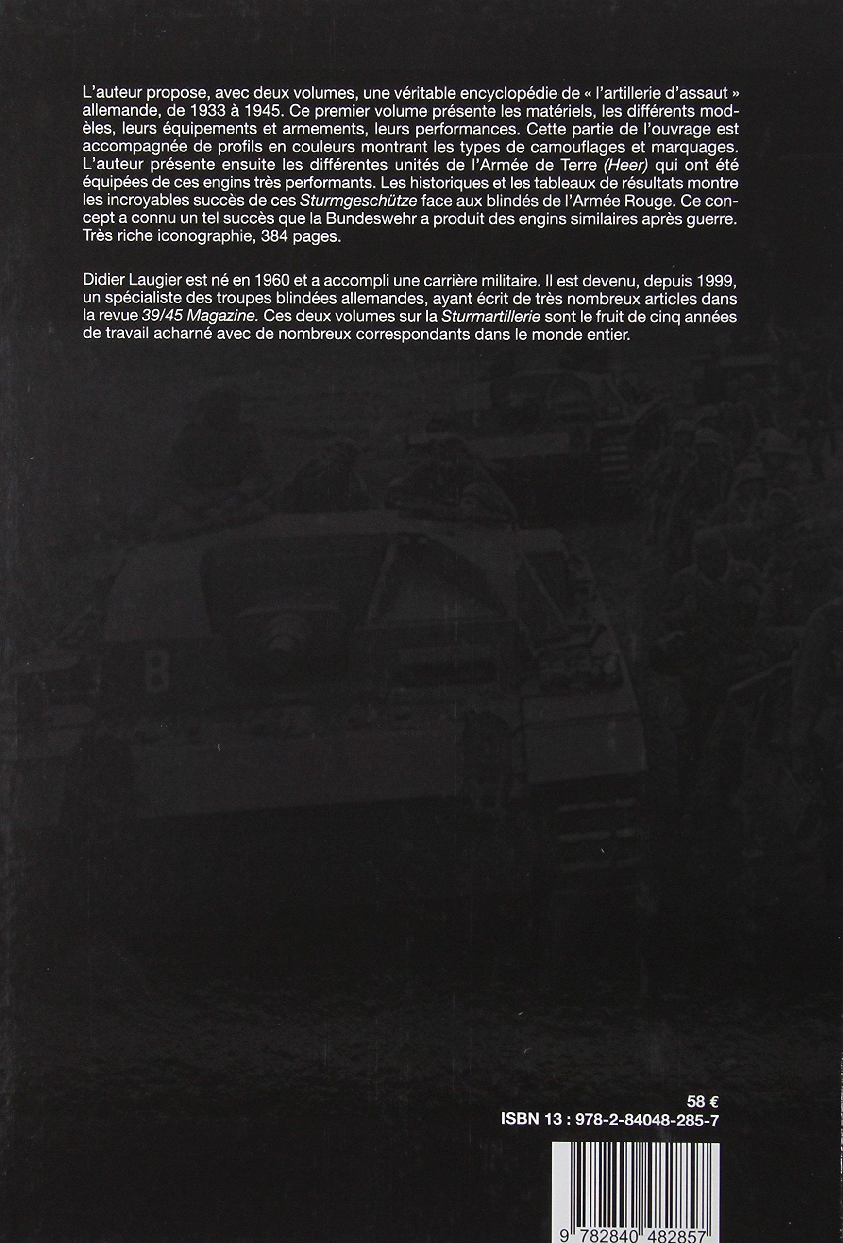 Sturmartillerie. Volume 1 (French Edition)