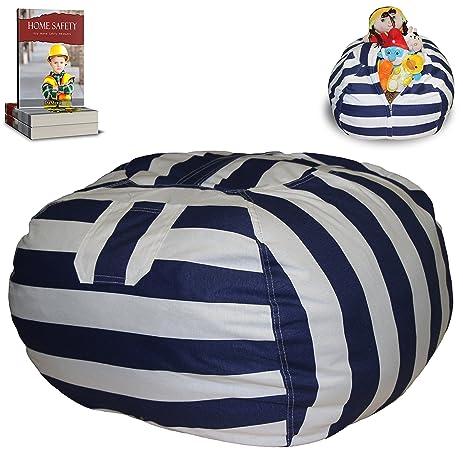 Stuffed Animal Storage Bean Bag Chair Large