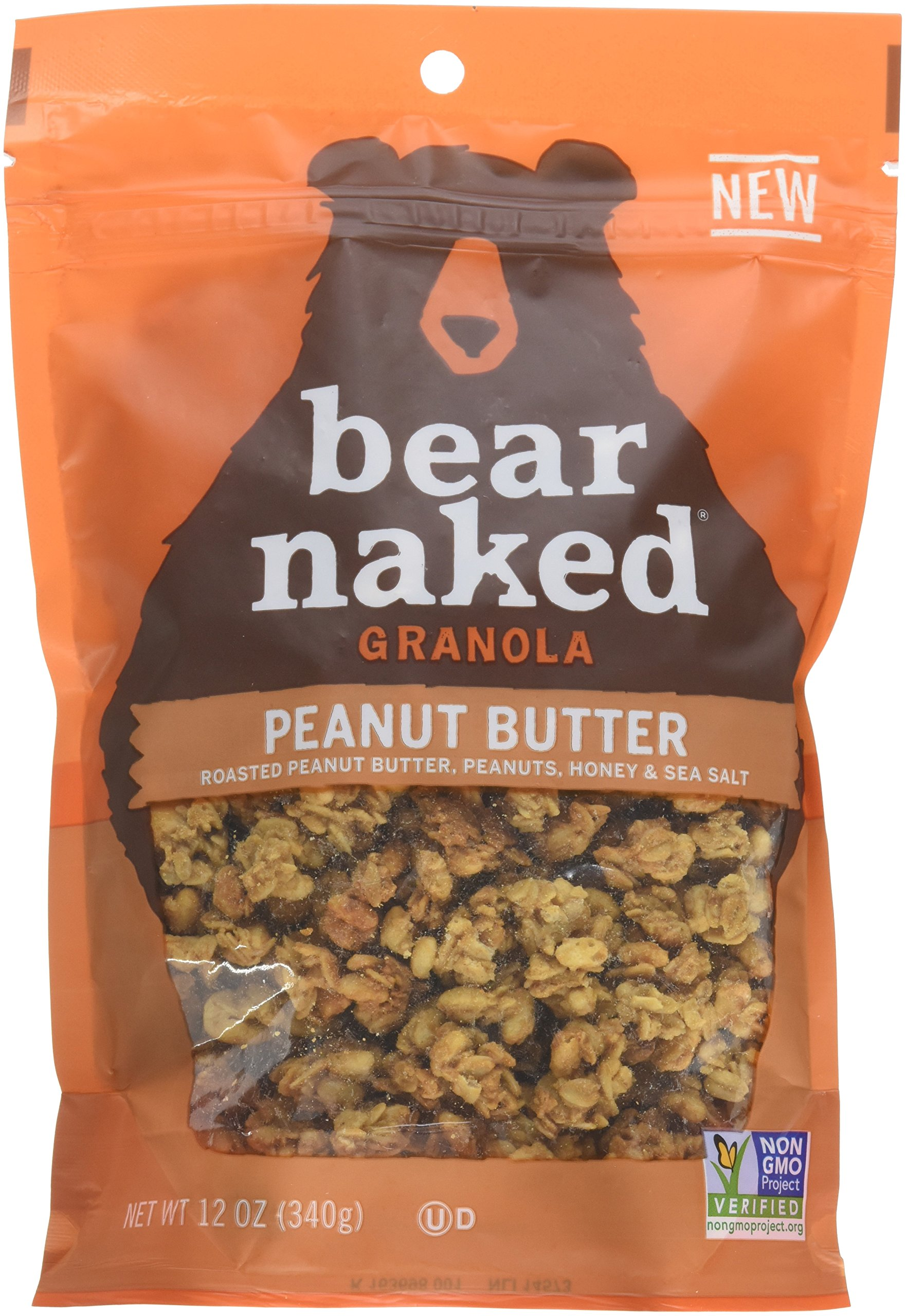 Amazon Com Bear Naked Granola Pouches Fruit And Nutty 12 Ounce