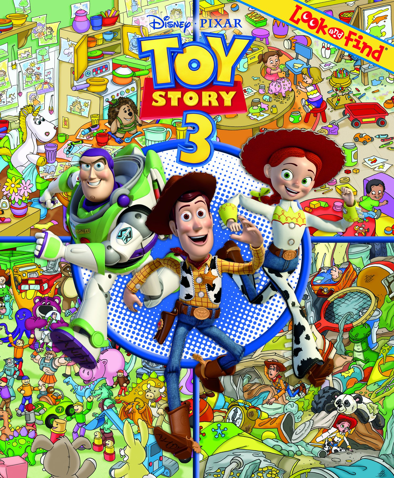 Toy Story 3 Look And Find Art Mawhinney 9781605531342 Amazon Com
