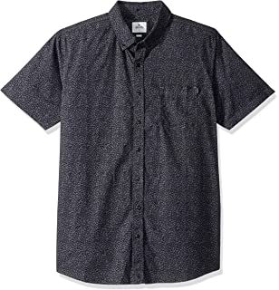 Rip Curl Mens Two Cans Short Sleeve Button Up Shirt