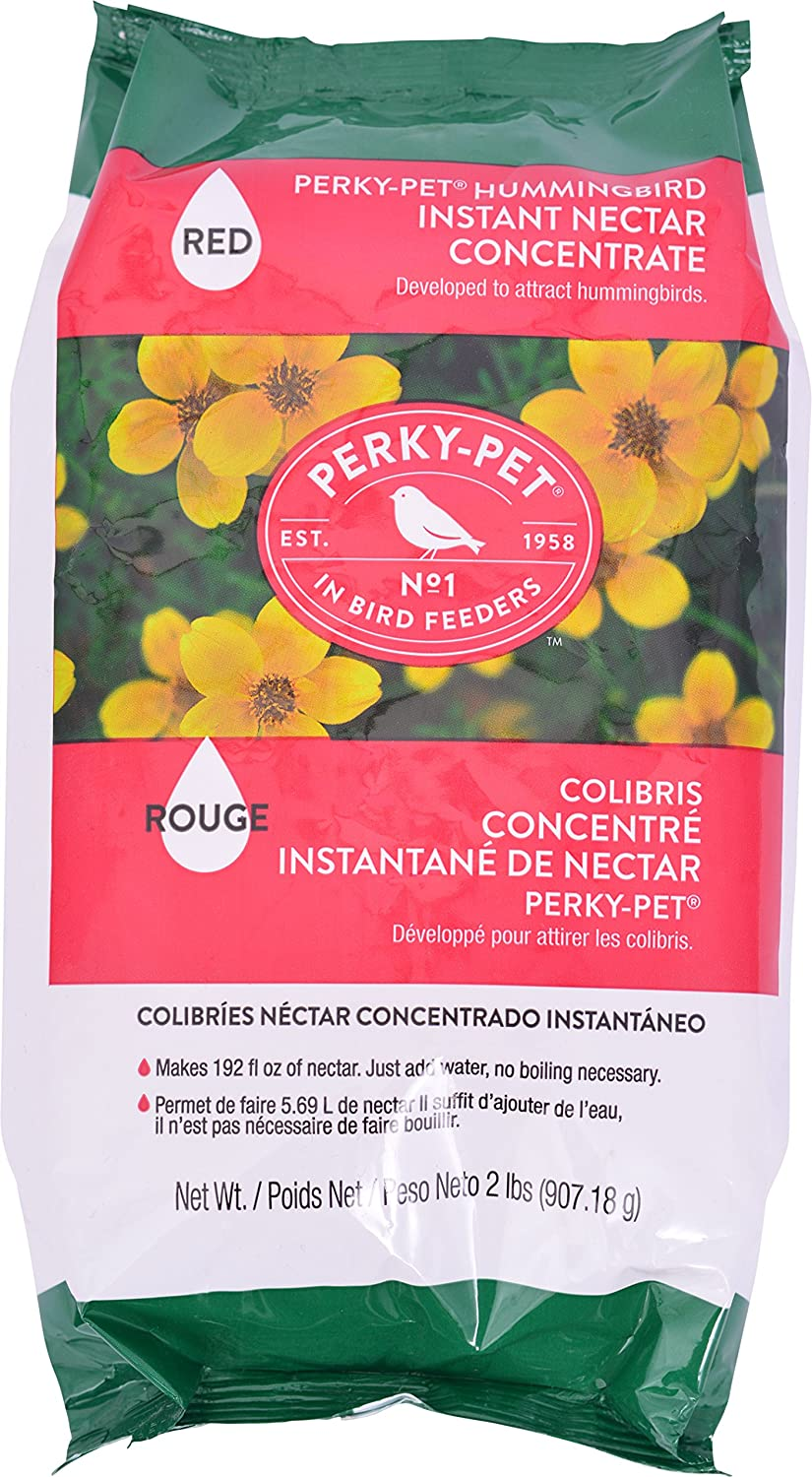 Perky-Pet 244SFB 2 lb Red Instant Nectar