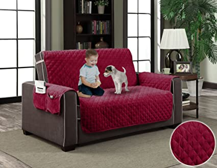 Amazon Com Area Rugs Burgundy Red Couch Luxury Micro Suede