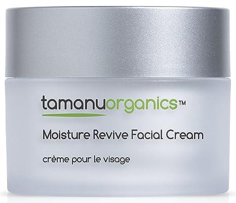 Tamanu Organics humedad Revive crema facial para piel seca con Orgánica Aceite de Argán y Vitamina