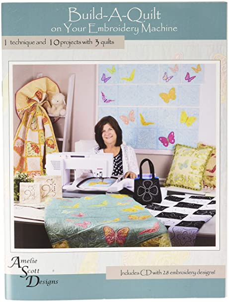 Amazon Build A Quilt Embroidery Machine Design Patterns Cd 10