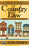 Country Law (The Shops on Wolf Creek Square Book 2)