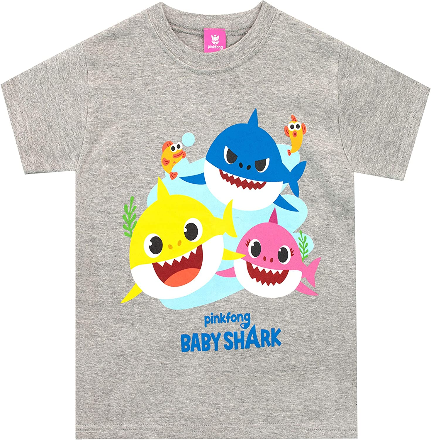 Pinkfong Boys' Baby Shark T-Shirt