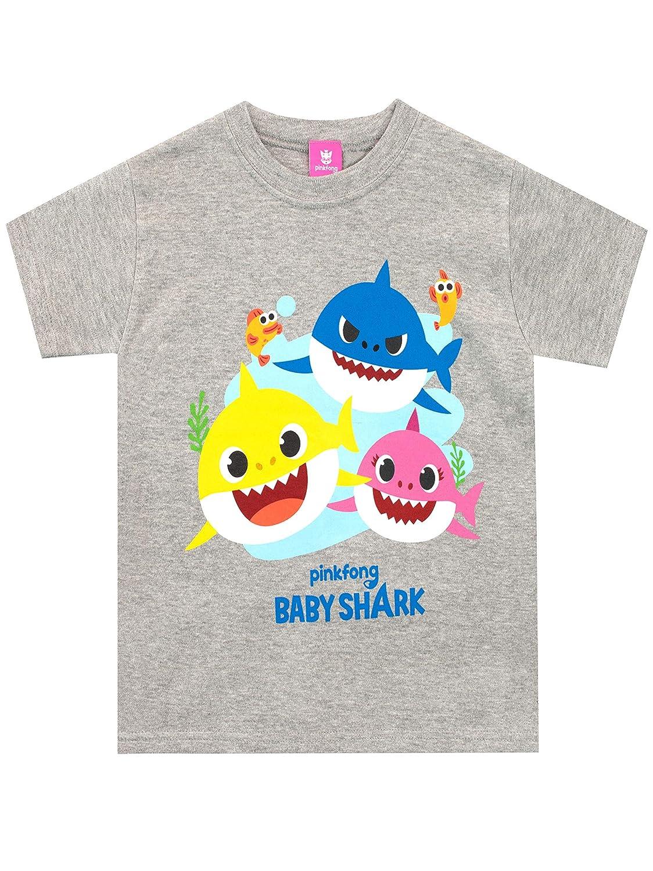 Pinkfong Camiseta de Manga Corta para niños Baby Shark