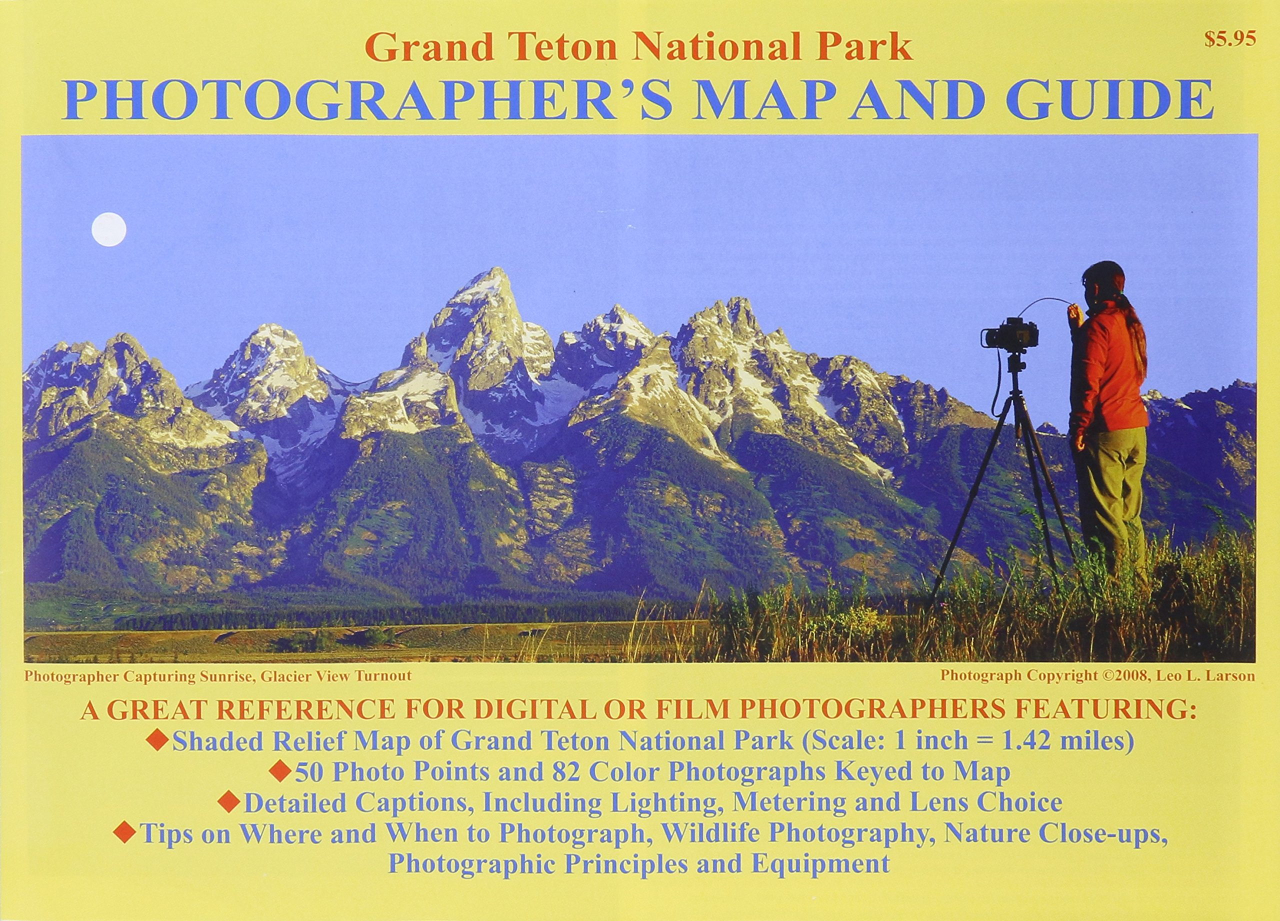 Grand Teton National Park Photographer's Map and Guide pdf epub