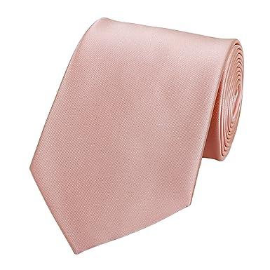 4097029e6d76b Fabio Farini Cravate en rose/saumon: Amazon.fr: Vêtements et accessoires