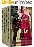 Regency Romance: A Heart for a Duke - Four Book Boxed Set: Clean and Wholesome Historical Romance Box Set