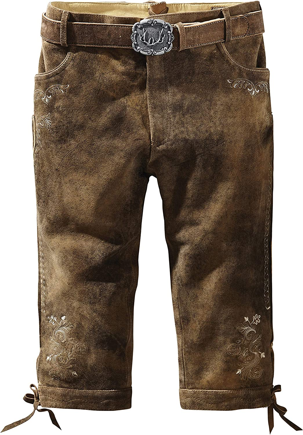 Belt Sigmar3 Brown Stockerpoint German Leather Trousers incl