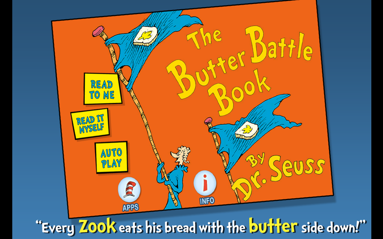 Amazon.com: The Butter Battle Book - Dr. Seuss: Appstore for Android