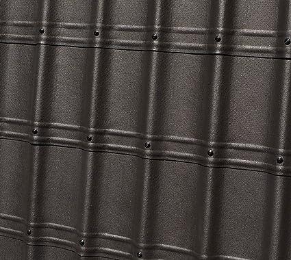 Onduline Onduvilla Tile 6.5m2 roof Kits, Includes Tiles, Ridge, verges and Screws (Black): Amazon.co.uk: DIY & Tools