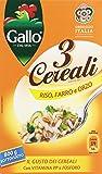 Gallo - 3 Cereali, Riso, Farro E Orzo - 2 pezzi da 800 g [1600 g]