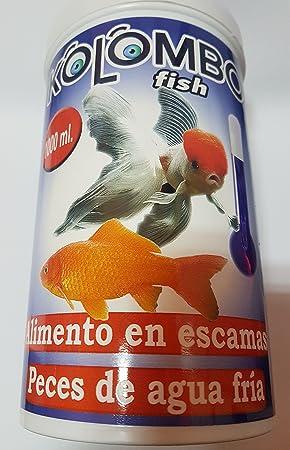Alimento en escamas para peces de agua fria Kolombo (Bote 1000 ml)