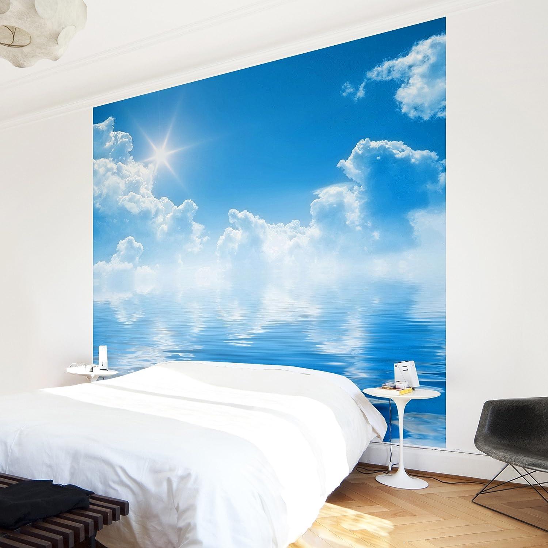Apalis Vliestapete Above Sea Level Fototapete Quadrat Schlafzimmer ...