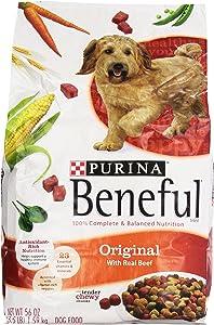 Purina Beneful Dry Dog Food, Original With Real Beef, 3.5 Lb Bag