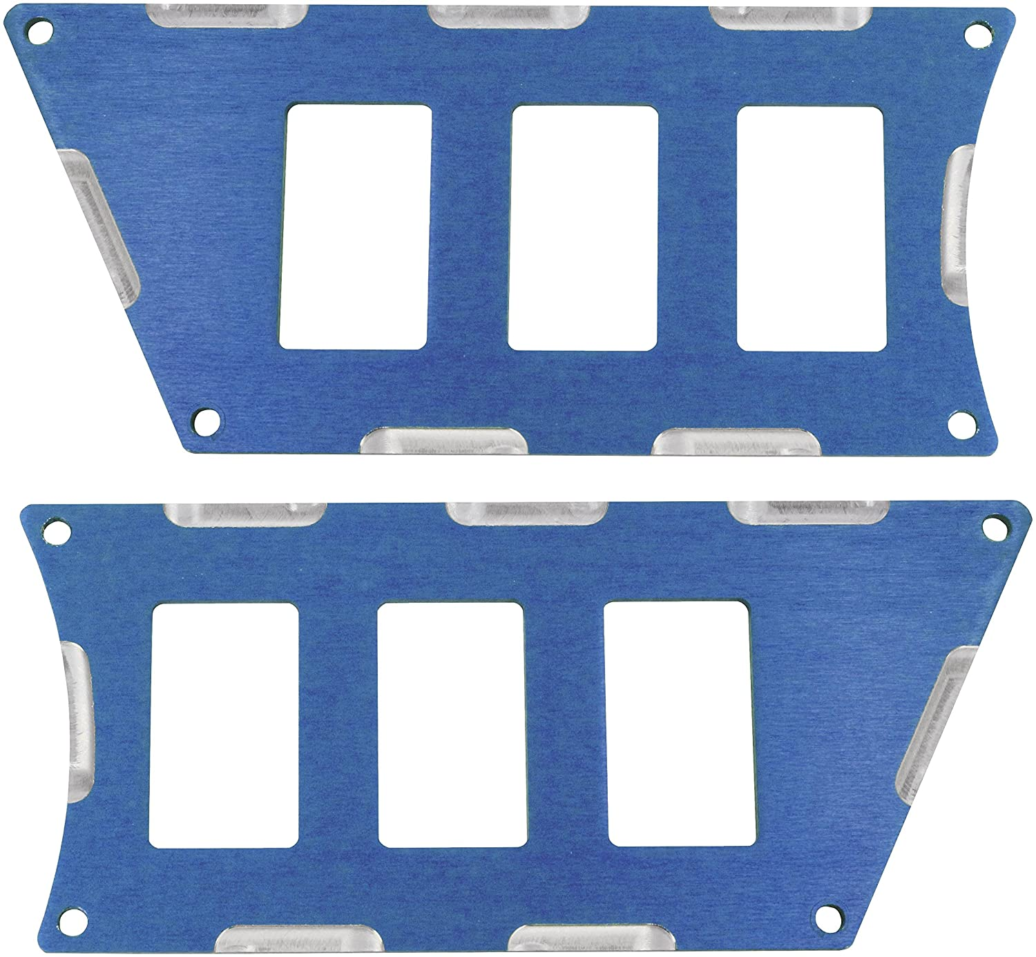 Modquad Blue Rocker Switch Panels for 6 Switches Polaris RZR XP 1000 / Turbo TRTC2399