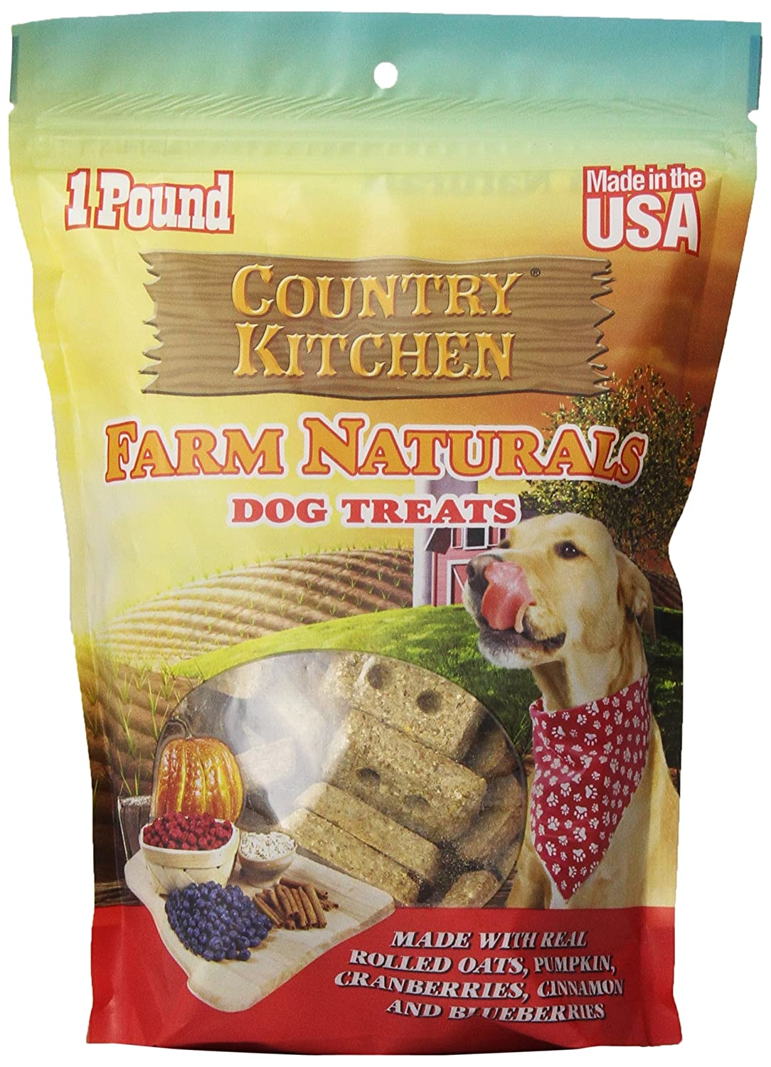 Country Kitchen Dog Treats Amazoncom Country Kitchen Farm Naturals With Pumpkin Dog Treats