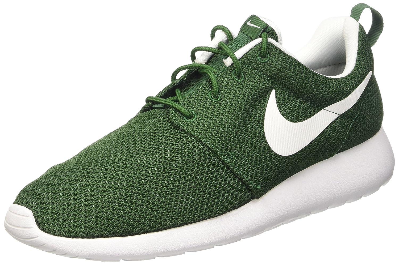 Nike Roshe One, Zapatillas de Running para Hombre 43 EU|Verde (Gorge Green / White)