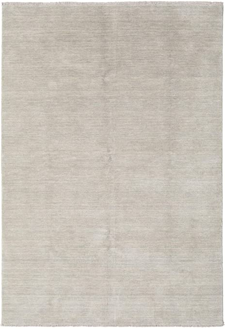 Astounding Rugvista Handloom Fringes Greige Rug 53X77 160X230 Cm Modern Carpet Caraccident5 Cool Chair Designs And Ideas Caraccident5Info