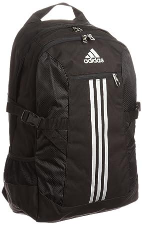 294d7a9d7e Adidas Power II LS Backpack - Black Metallic Silver Metallic Silver ...