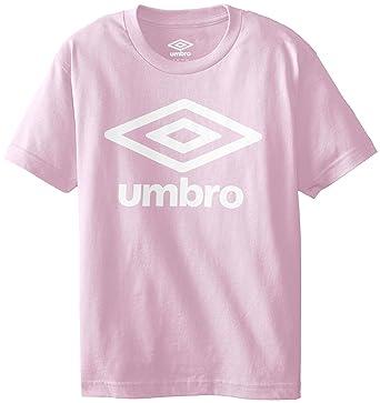 f8809b9633 Amazon.com: UMBRO Big Boys' Short Sleeve Logo Front Only Screen: Clothing