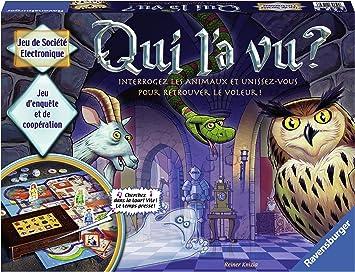 Ravensburger Qui L A Vu Jeu De Societe Pour Enfants De 2 A 4 Joueurs A Partir De 6 Ans 21439 Version Francaise Amazon Fr Jeux Et Jouets