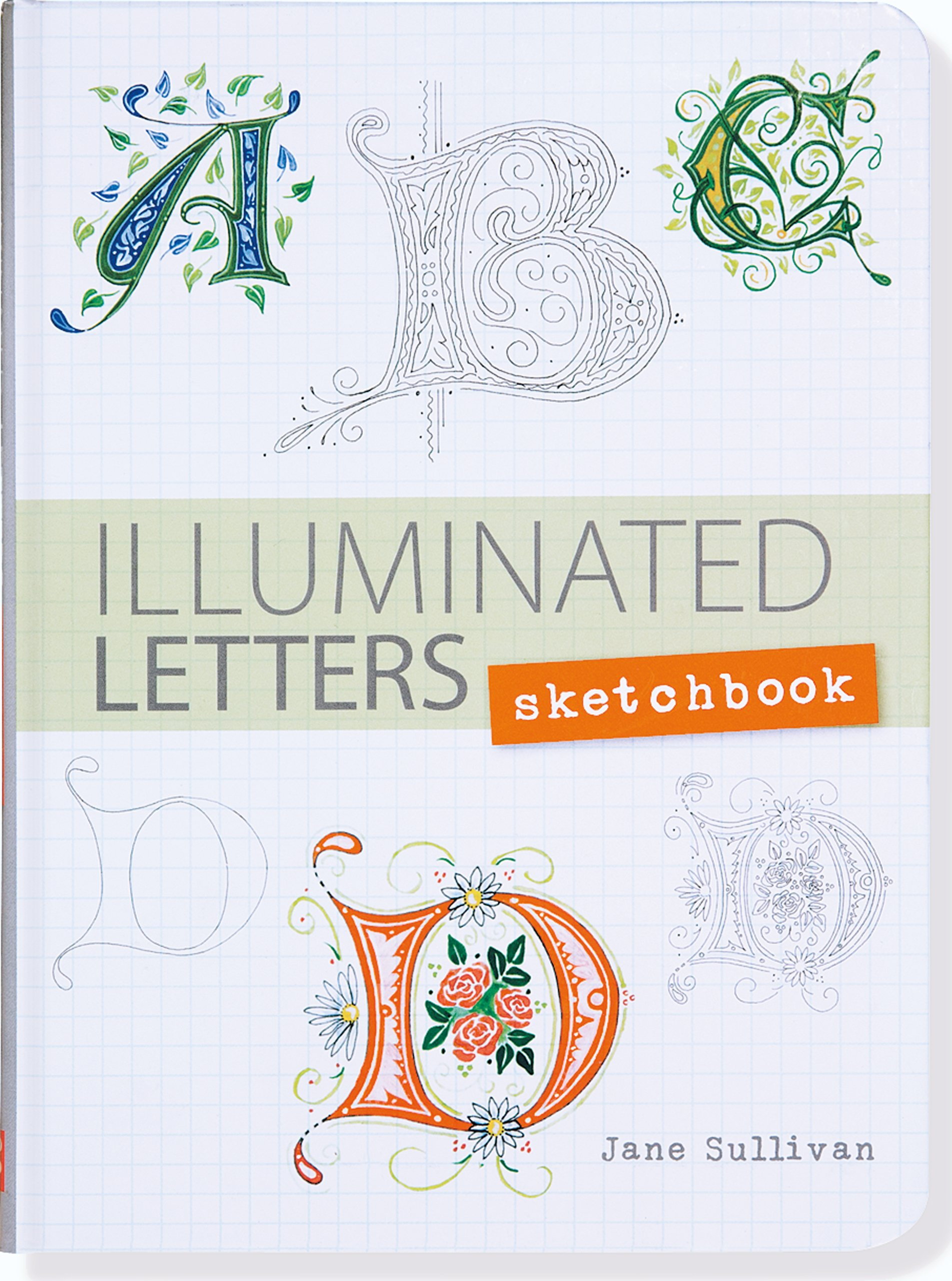 Illuminated Letters Sketchbook Interactive Notebook product image