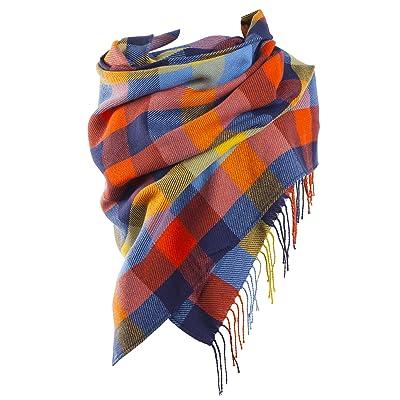 Écharpe, châle, foulard coloré, sensation coton doux en divers motifs de couleurs