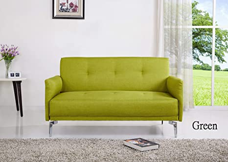 Tremendous Container Furniture Direct Emma Collection Modern Fabric Upholstered 2 Person Living Room Loveseat Green Andrewgaddart Wooden Chair Designs For Living Room Andrewgaddartcom