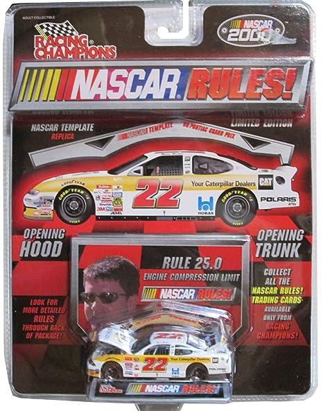 New 2000 Racing Champions 1:64 NASCAR Ward Burton CAT Caterpillar Grand Prix c
