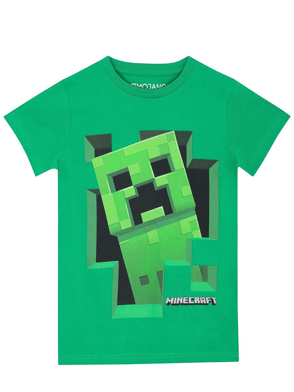 Minecraft - T-Shirt - Creeper - Garçon