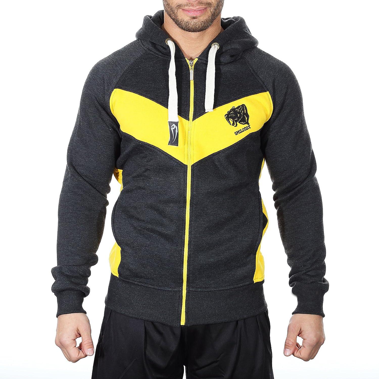 TALLA M. Smilodox Slim Fit Jacket Chaqueta para Hombre