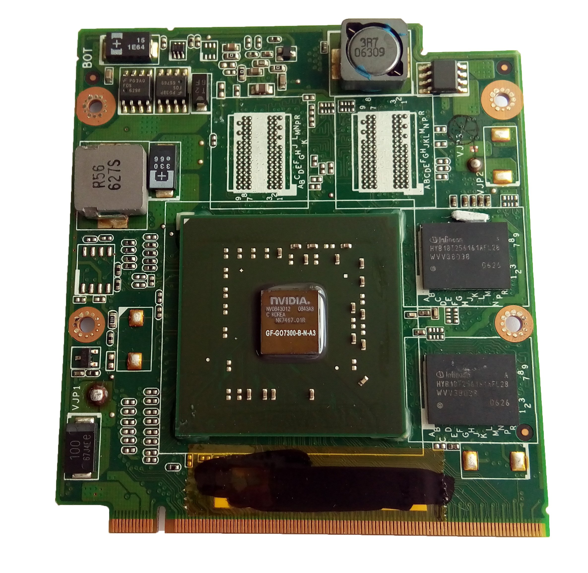 128M Laptop VGA Graphic Card GF-G07300-B-N-AB for Asus A8JC Laptop 60-NF8VG2000-B02 by StylusPen (Image #3)