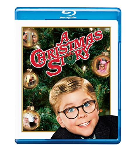 A Christmas Story Blu-ray DVD.