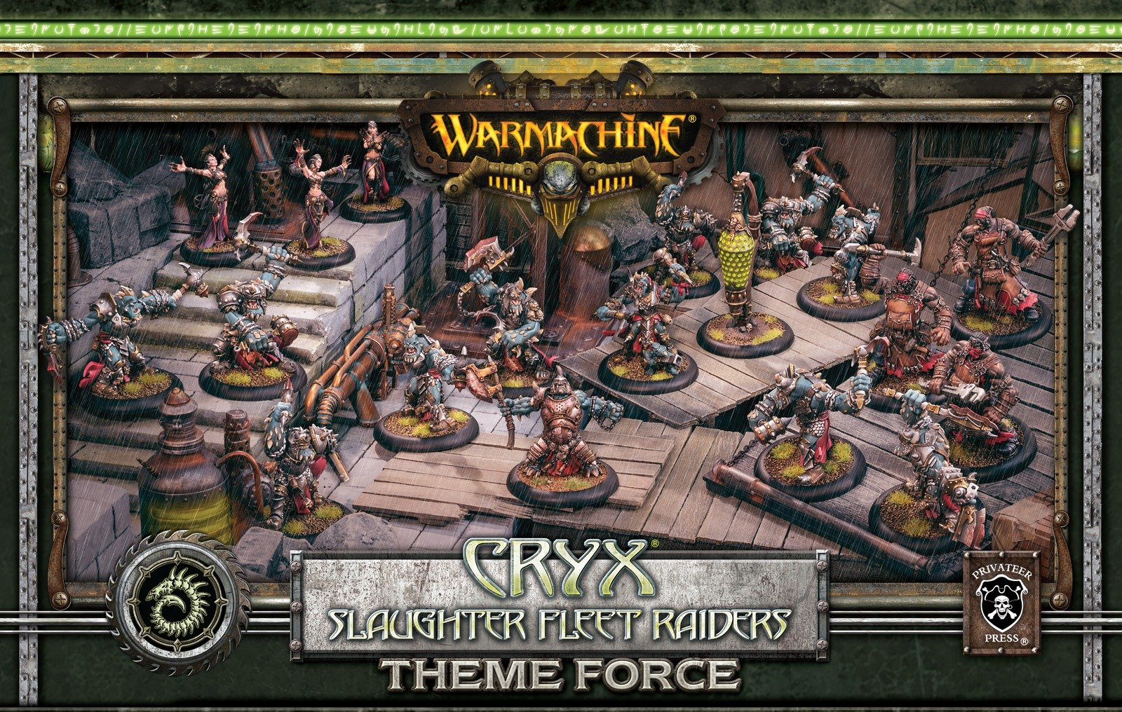 Privateer Press Cryx: Slaughter Fleet Raiders Theme Force Box (Mixed Resin/Metal) Miniature Game Figure