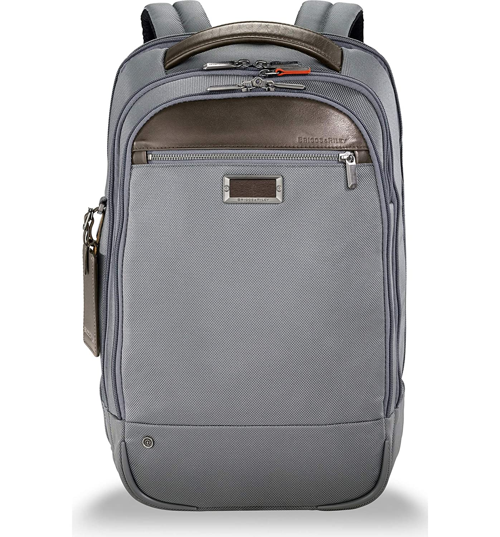 [ブリグスアンドライリー] メンズ バックパックリュックサック Briggs & Riley @work Medium Backpack [並行輸入品] One-Size  B07D74KSVF