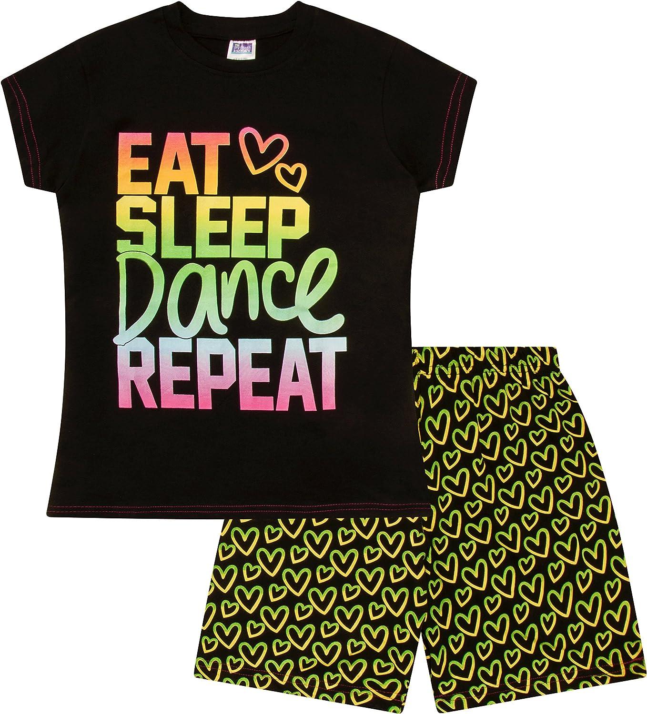 Cool Eat Sleep Dance Pijama corto para ni/ñas